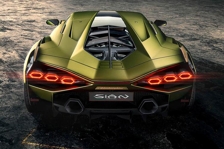 Lamborghini Sian hypercar