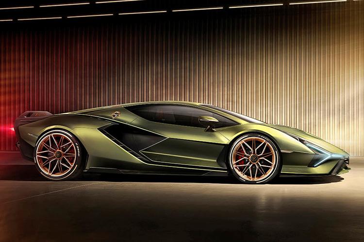 Lamborghini Sian hypercar tecnologia