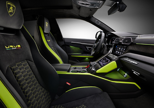 Lamborghini Urus Graphite Capsule asientos personalizado