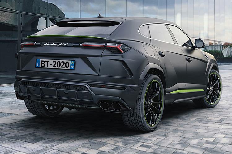 Lamborghini Urus Graphite Capsule variante diseño