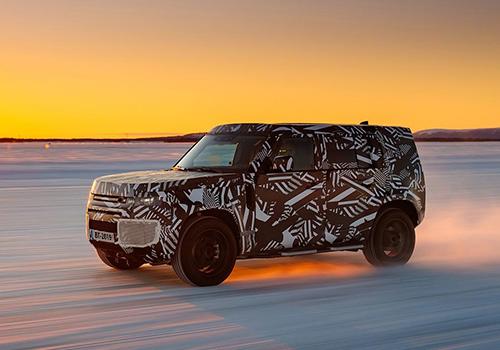 Land Rover Defender 2020 carrocería