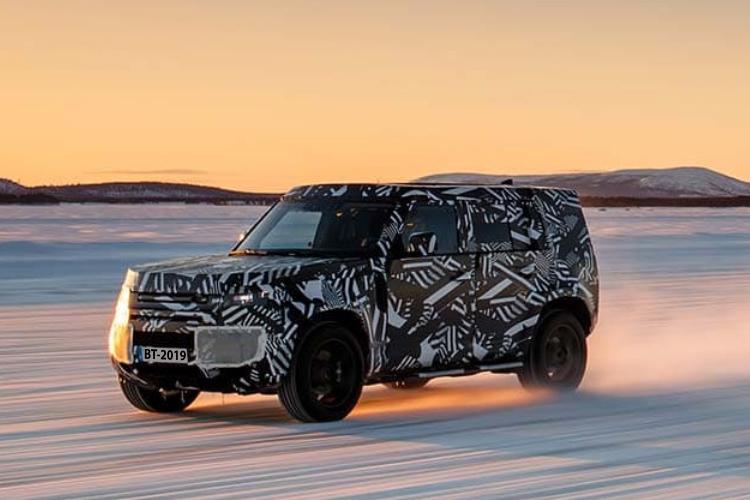 Land Rover Defender 2020 vehiculo tamaño 5 puertas velocidad