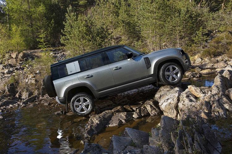 Land Rover Defender 2021 rendimiento