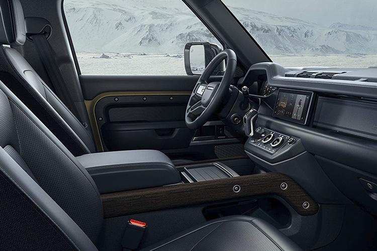 Land Rover Defender 2021 sistema de infoentretenimiento