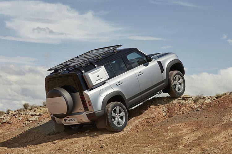 Land Rover Defender 2021 tecnología