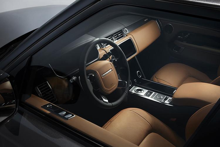 Land Rover Fifty, diseño interior