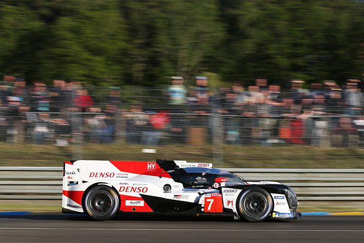 Las 24 horas de Le Mans competencia de resistencia