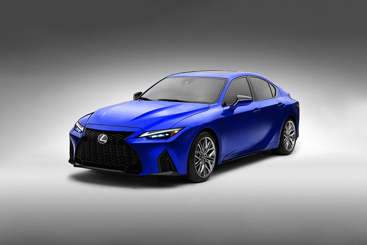 Lexus IS 500 F Sport Performance diseño equipamiento acabados prestaciones
