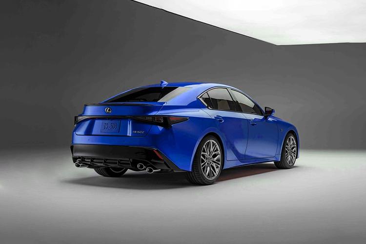 Lexus IS 500 F Sport Performance diseño equipamiento motor carrocería