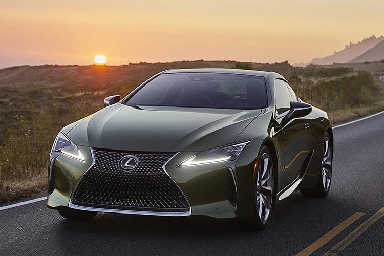 Lexus LC 500 inspiration series estados unidos