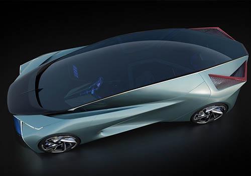 Lexus LF-30 electrico techo de cristal