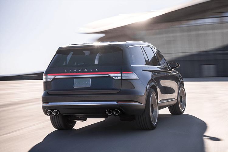 Lincoln Aviator Grand Touring llega a México SUV diseño