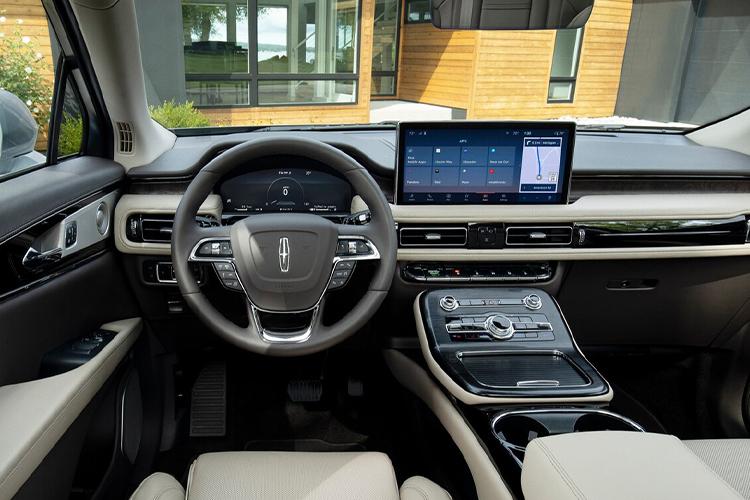 Lincoln Nautilus 2021 llega a México sistema de infoentretenimiento acabados