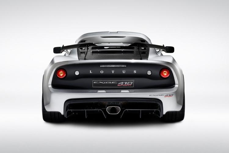 Lotus Exige Sport 410 20 Aniversario, diseño