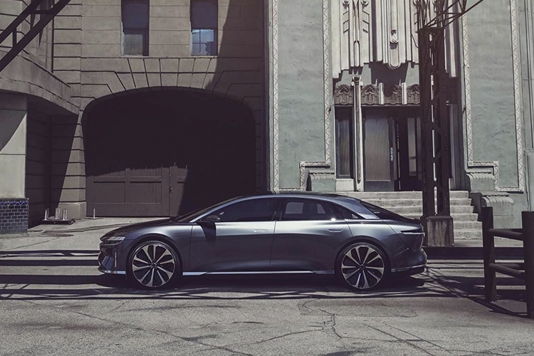 Lucid Air totalmente eléctrico