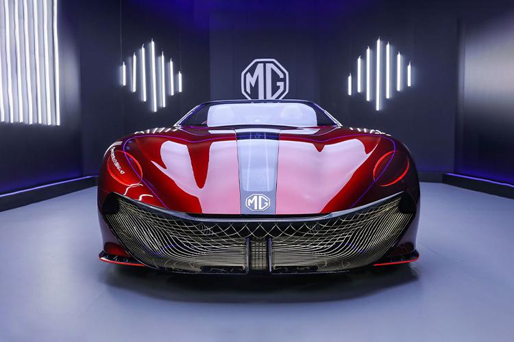 MG Cyberster roadster nuevos modelos carroceria diseño