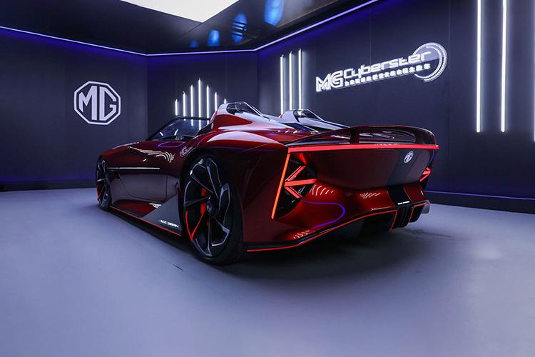 MG Cyberster roadster nuevos modelos equipamiento potencia