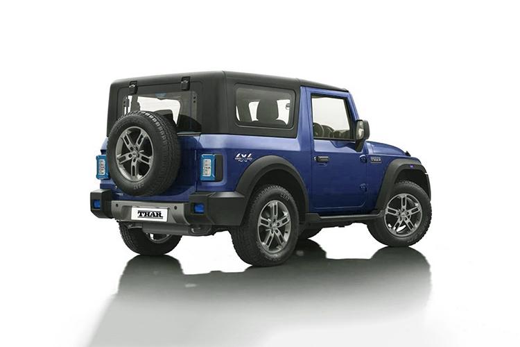 Mahindra Thar 2021 pickup diseño