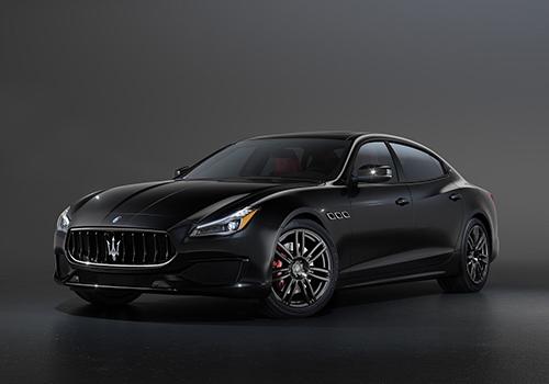 Maserati Edizione Ribelle 3 versiones