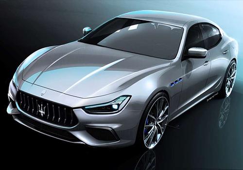 Maserati Ghibli Hybrid 2021 tecnología Maserati Connect