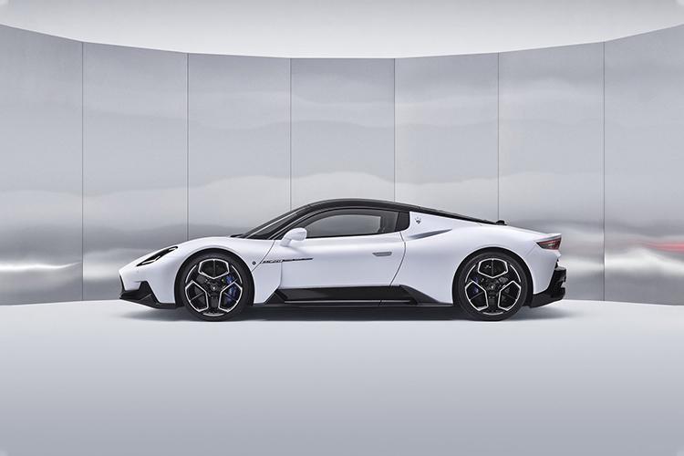 Maserati MC20 diseño