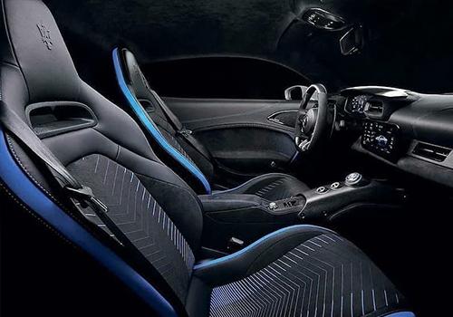 hypercar diseño interior