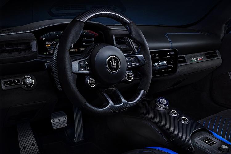 Maserati MC20 hypercar tecnología