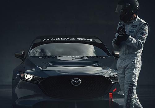 Mazda 3 TCR competencia