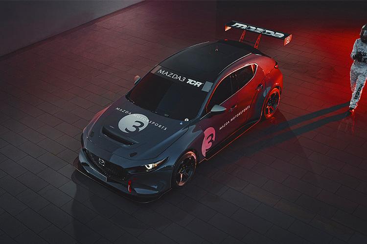 Mazda 3 TCR potencia de 350 hp