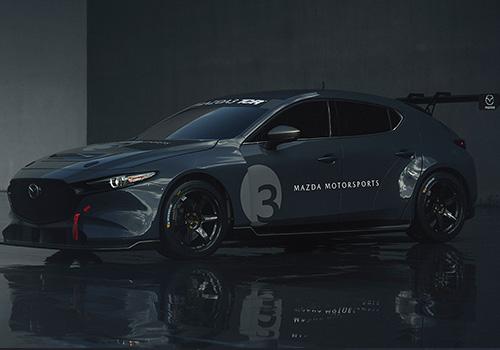 Mazda 3 TCR tamaño
