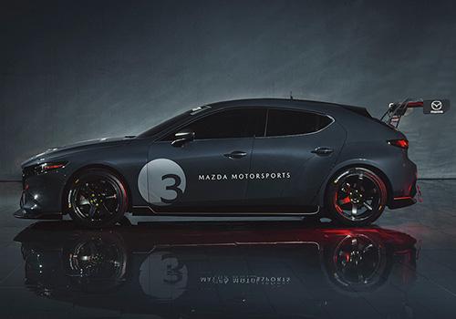 Mazda 3 TCR tecnología