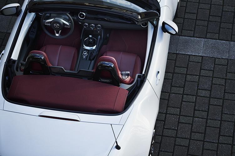 Mazda MX-5 diseño primer modelo de producción