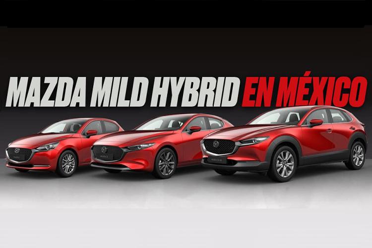 Mazda microhíbridos - autos que llegarán a México en 2021