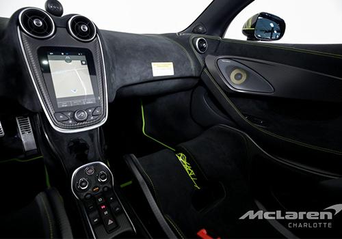 McLaren 600LT Spider Segestria Borealis potencia