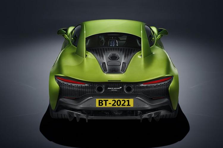 McLaren Artura nuevo hypercar híbrido carrocería biplaza