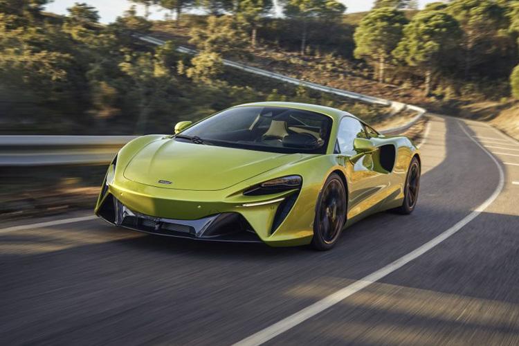 McLaren Artura nuevo hypercar híbrido diseño tecnología