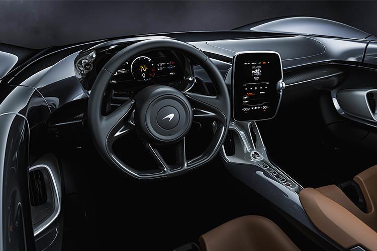McLaren Elva cuadro de instrumentos