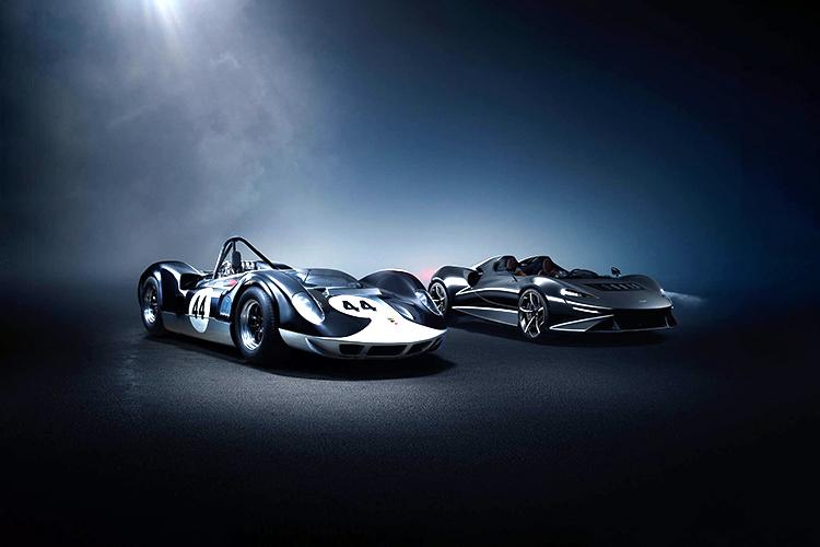 McLaren Elva roadster sin parabrisas