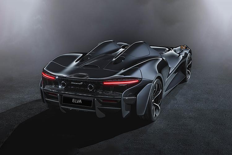 McLaren Elva tecnologia