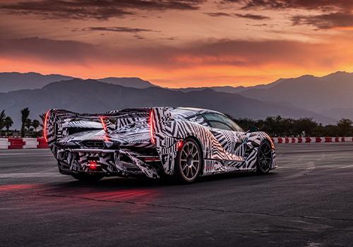 superdeportivo con unidades limitadas diseño innovaciones carrocería equipamiento tecnología