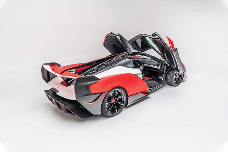 McLaren Sabre super deportivo con unidades limitadas equipamiento diseño tecnología rendimiento