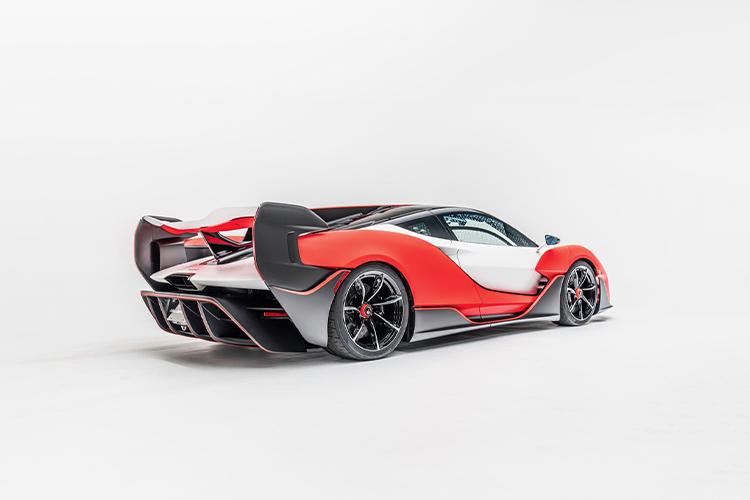 McLaren Sabre super deportivo con unidades limitadas motor potencia