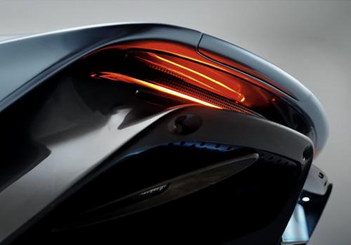 McLaren Speedtail sistema