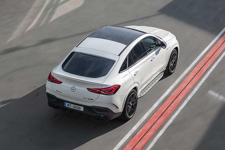 Mercedes-AMG 63 S 4MATIC+ Coupé faldón trasero