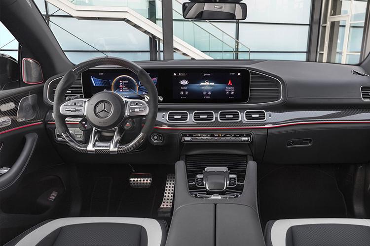 Mercedes-AMG 63 S 4MATIC+ Coupé sistema de infoentretenimiento