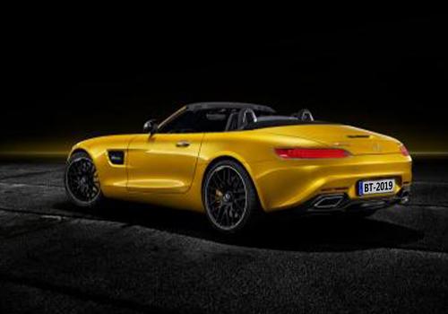 Mercedes-AMG GT S Roadster motor v8 de 4 litros