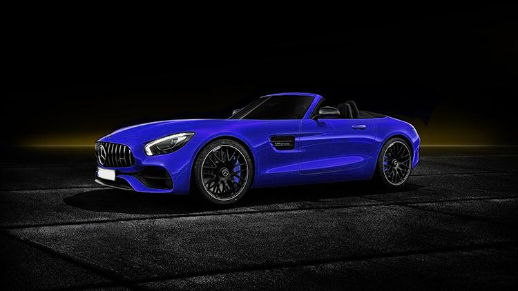 Mercedes-AMG GT S Roadster nuevo modelo azul