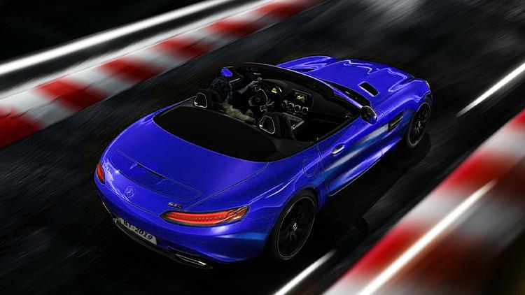 Mercedes-AMG GT S Roadster potencia de 515 hp
