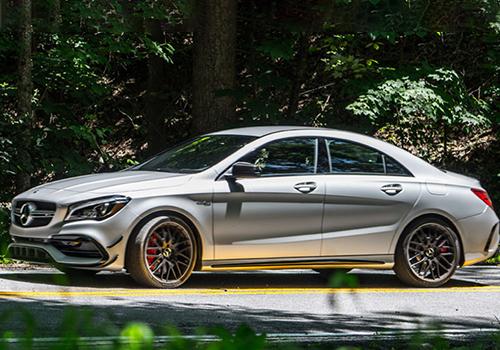 Mercedes Benz CLA coupé tecnologia
