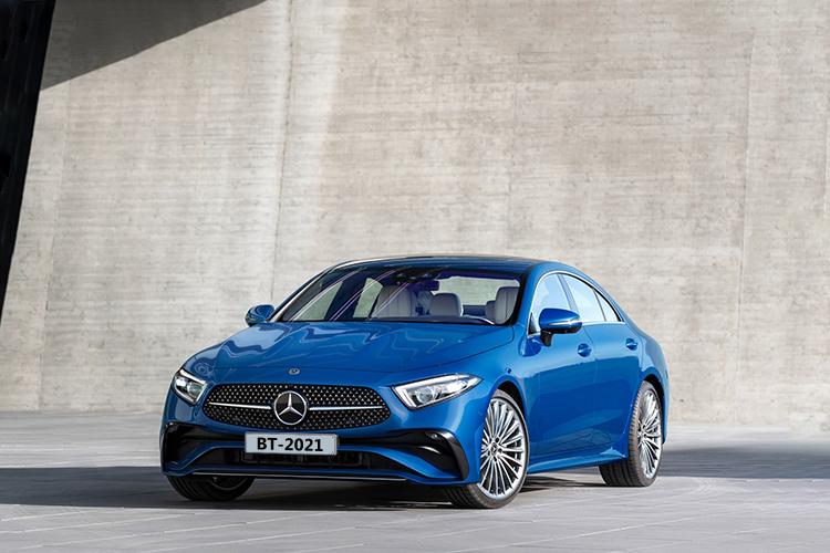 Mercedes-Benz CLS 2022 rediseñado carrocería sedán